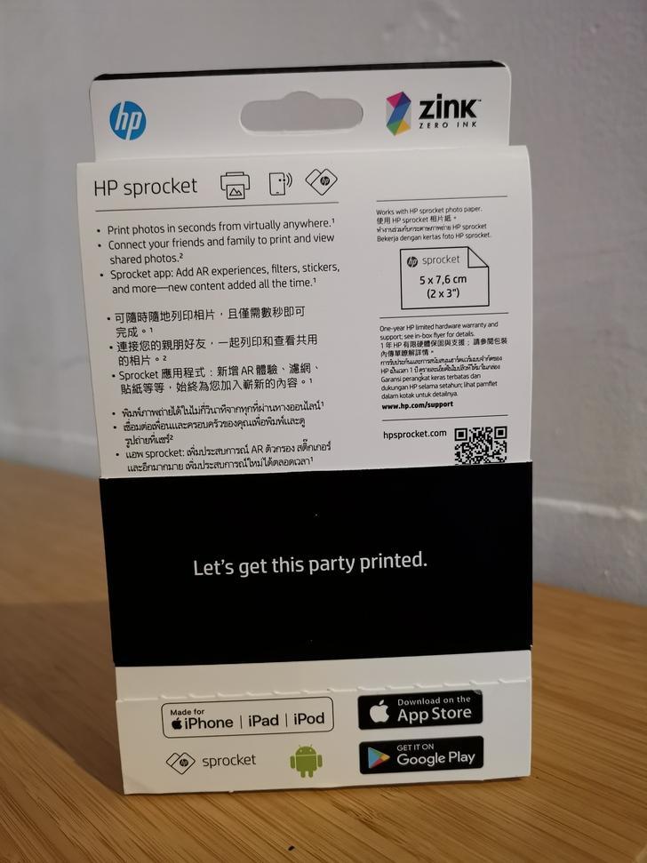 "HP Sprocket口袋相印機:相片隨手印、隨手貼、分享列印、AR""動""相片 - 2"