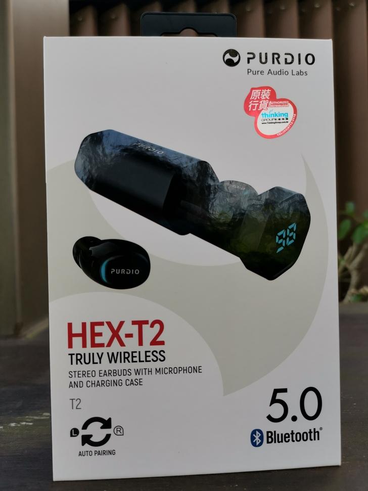 【Purdio】HEX T2真無線藍牙耳機:簡約設計、簡單操作的純淨好聲音