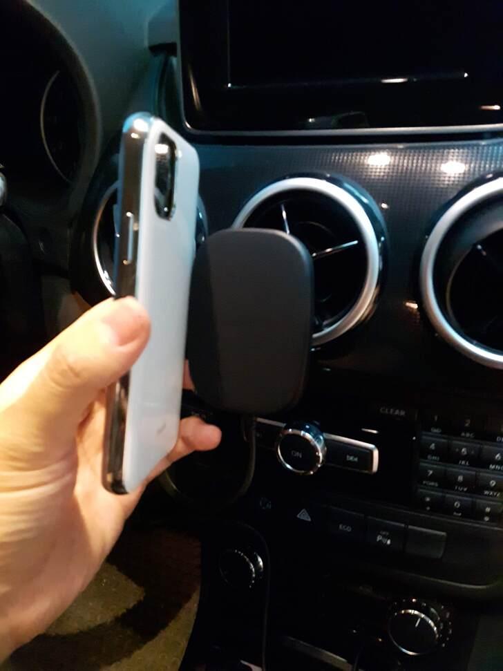 SnapTo™ 磁吸無線充電手機車用支架實測試用心得 - 20