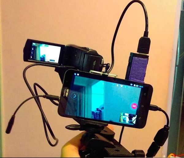分享 用手機讓外接的dv 單眼攝影機做facebook臉書直播 T17 討論區 一起分享好東西